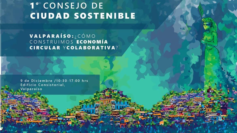 EcoEd, part of Ecosistema de reciclaje de Valparaíso, invites you to the First Council for a Sustainable City
