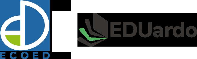 Logo EcoEd y logo EDUardo