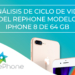 Análisis de Ciclo de Vida del RePhone iP8 de 64 GB